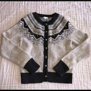 Vince Size Medium Cardigan Sweater Cashmere/ Wool